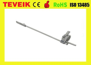 Reusable Biopsy Needle Guide for GE E8C Endocavity Ultrasound Probe